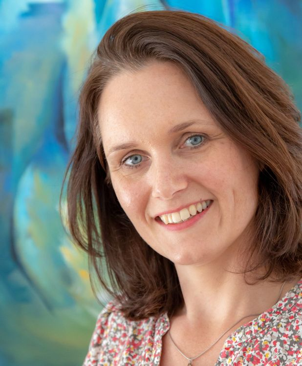 Portret van Katja Jansen - van der Meiden