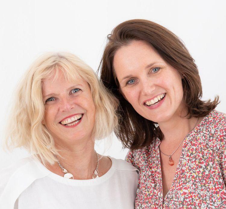 Foto van Yvonne en Katja